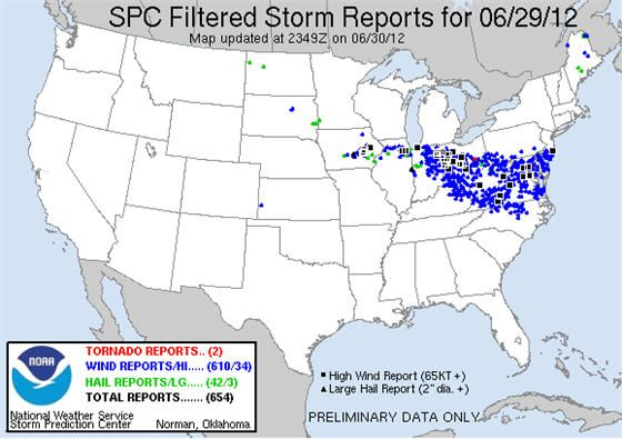 Powerful Derecho leaves millions without power during summer heat wave: Severance Thunderstorms, Indiana, Severance Weather, Candlesticks, Predictions Center, Storms Predictions, Graphics, Ks Tornados, United States