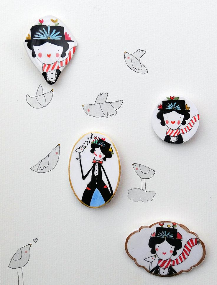 Mary Poppins | Manitas de plata