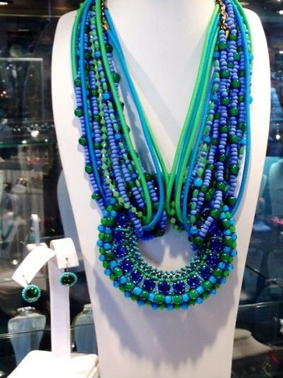 Konplott Necklace and matching earrings, $770 for set