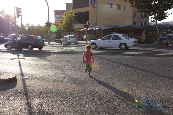 Children on the streets can often be seen running in between cars on busy streets asking for money from motorists.