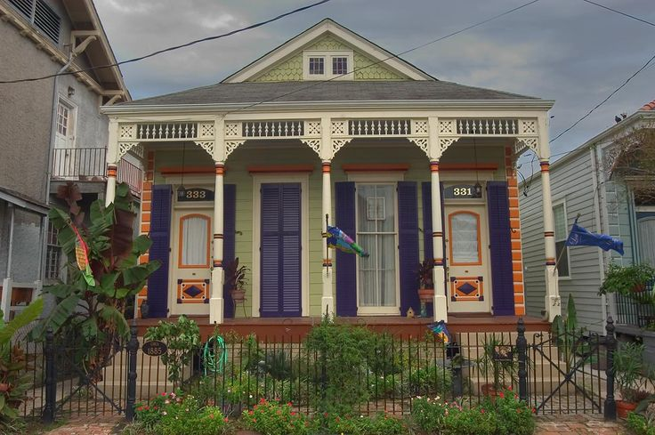 New orleans shotgun house love the color combo diy ad for New orleans shotgun house plans