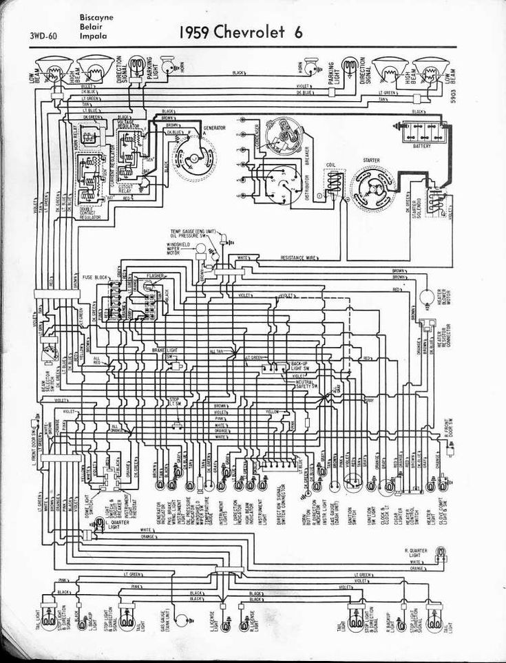 15  1959 Chevrolet Truck Wiring Diagram