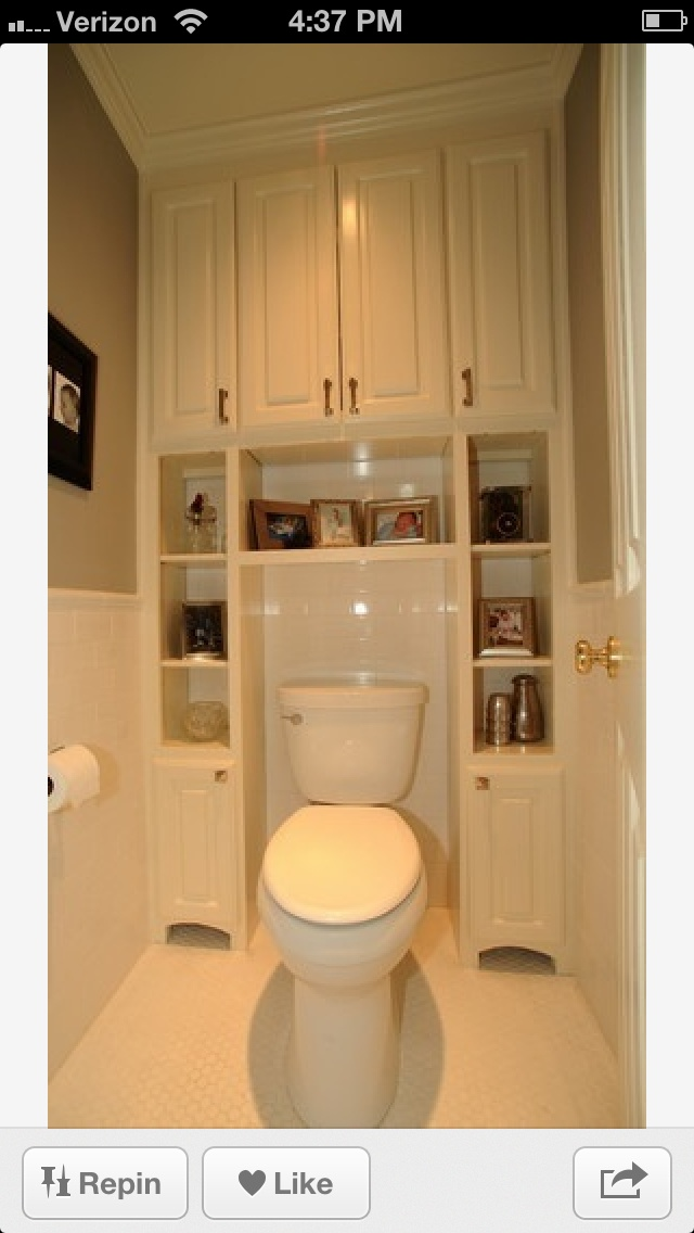 great for small bathroom space