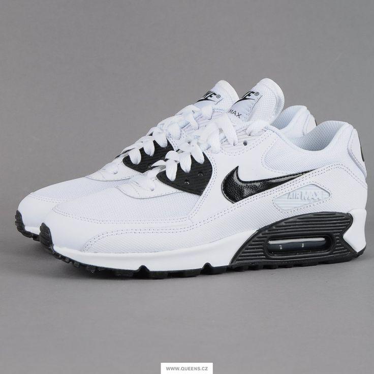 hot sale online 02955 4e5a9 ... low price nike wmns air max 90 essential white black dámské klasické  tenisky od znaky nike