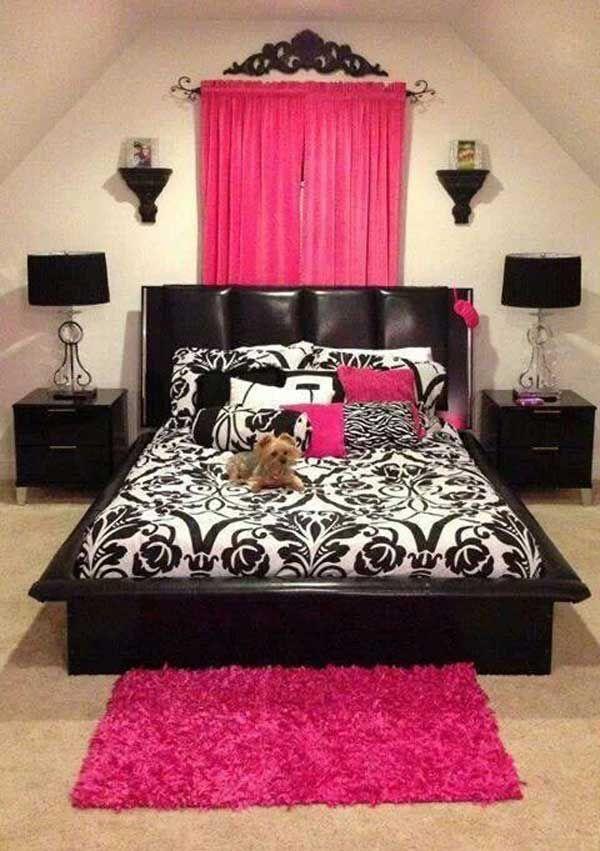 Great colours, headboard, and bed comforter! 40 Unbelievably Inspiring Bedroom Design Ideas!