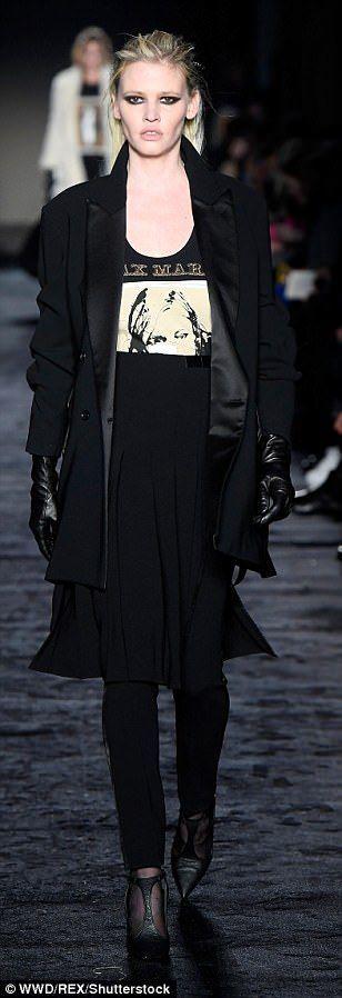 Work it, girls! Kaia Gerber, Gigi Hadid and Lara Stone all looked in their element as they... #fashionweek #milanfashionweek #larastone #models