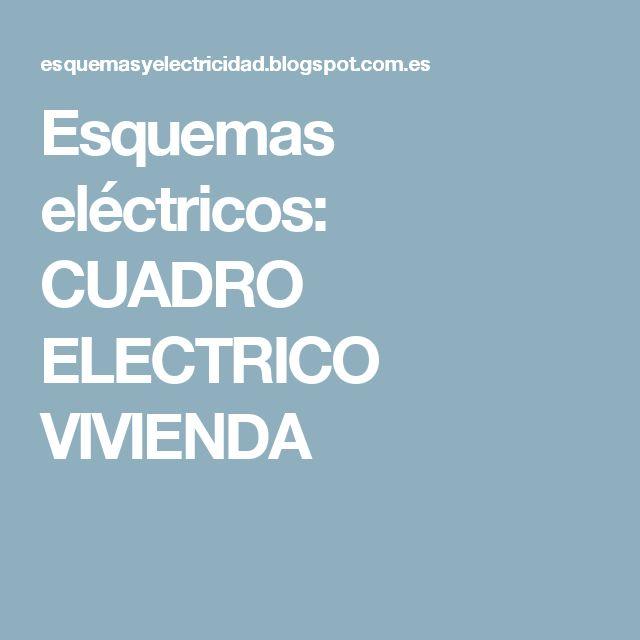 M s de 25 ideas incre bles sobre cuadro electrico vivienda - Cuadro electrico vivienda ...