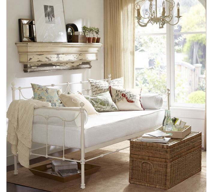 Savannah Daybed With Trundle Pottery Barn For Kids