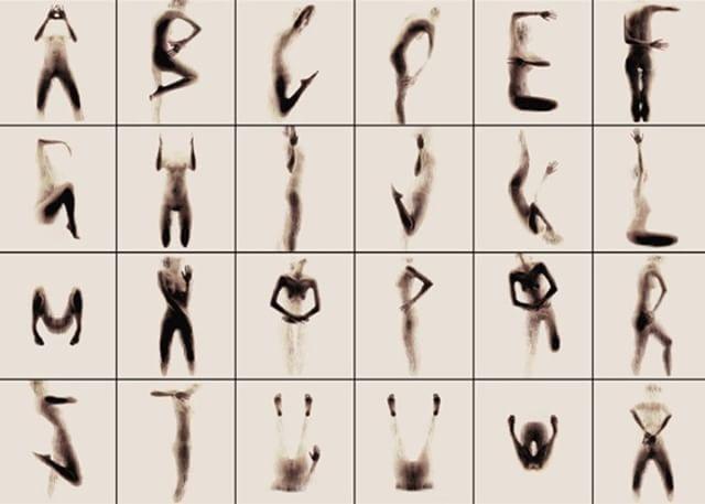 Human Alphabet by Anastasia Mastrakouli  alphabet, #photography, fotografia,alfabeto umano