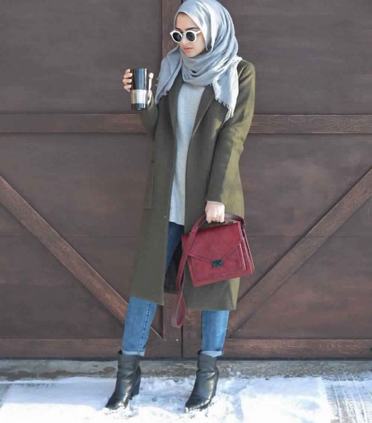 Style Hijab Avec Jeans12