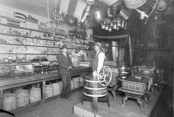 Ashe Hardware store interior, Granite Falls, Washington ...