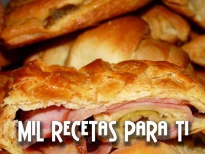 Pan de jamón en masa de hojaldre.: Ham, En Masa, Masa De Hojaldr, Jamón En, Recipe, Recetas Exquisita, Recipes, Mil Recetas, Puff