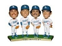 Steve Garvey Ron Cey Davey Lopes Bill Russell Bobblehead - available now on BobblesGalore.com