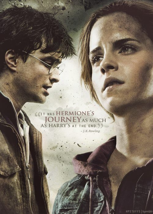 Hermione Quotes Her Journey