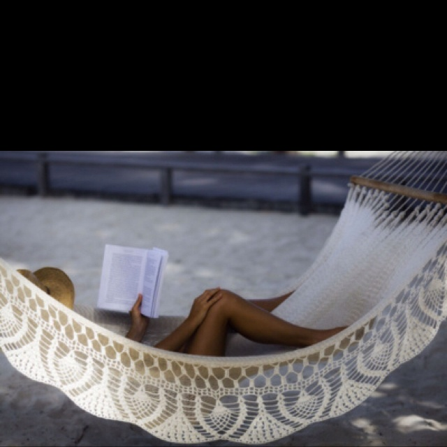 : At The Beaches, Summer Day, Lazy Day, Dreams, Crochet Hammocks, Places, Reading A Books, Good Books, Heavens