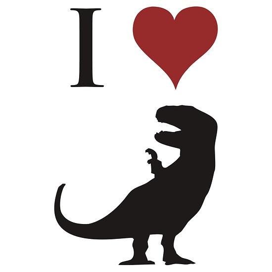 I Heart T-rex