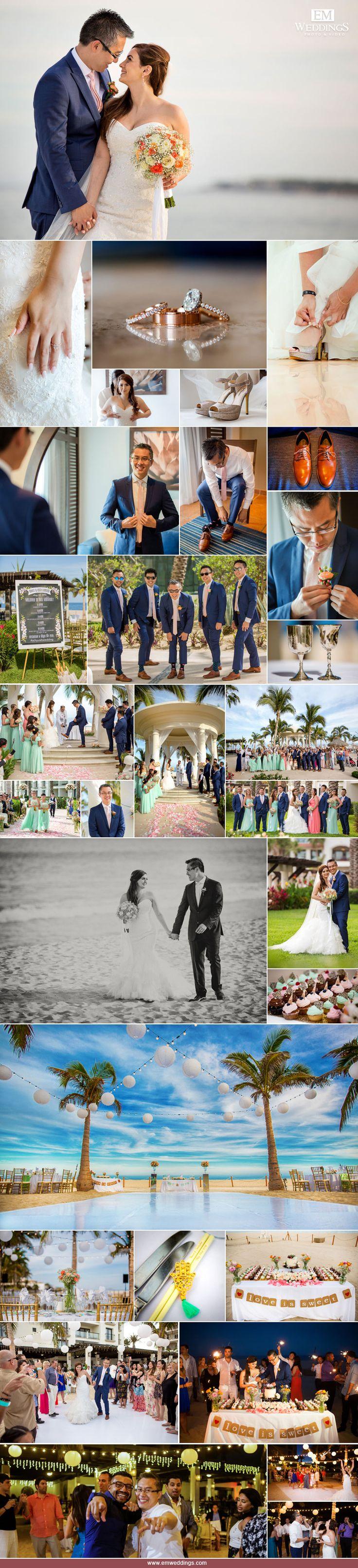 Wedding at Hotel Hyatt Ziva, Los Cabos, México - Los Cabos Wedding Photographer. #emweddingsphotography #destinationweddings