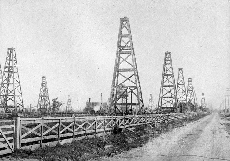 Oil Derricks, Petrolia, Ontario