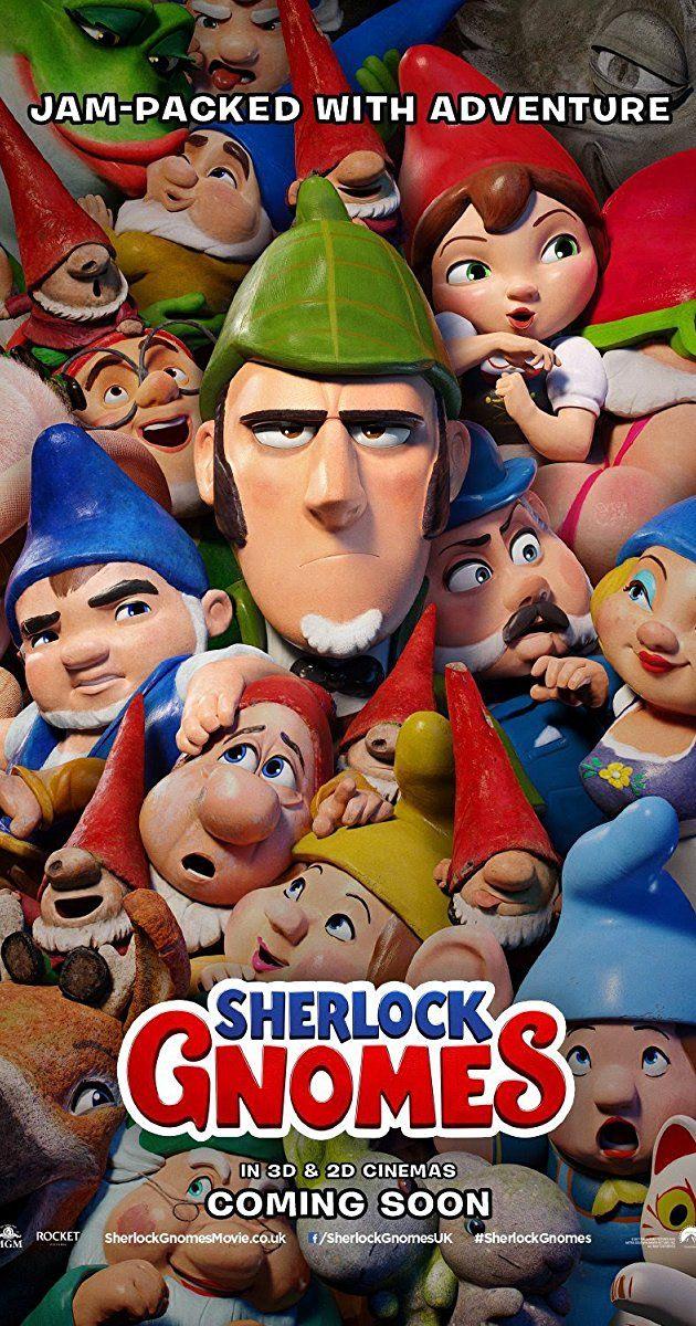 Directed By John Stevenson With Johnny Depp James Mcavoy Emily Blunt Stephen Merchant Garden Gnomes Gnomeo Juliet Recr Sherlock Animation Movie Gnomes