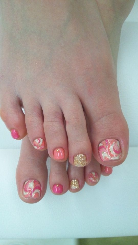 Best 25+ Cute Toenail Designs Ideas On Pinterest