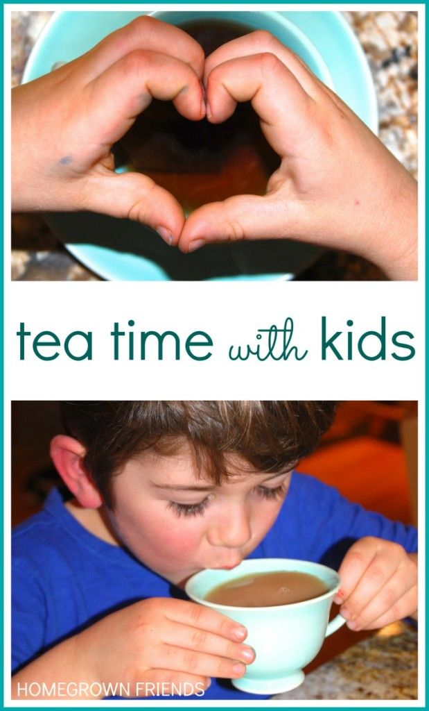 The Importance of Tea Time with Kids from Homegrown Friends