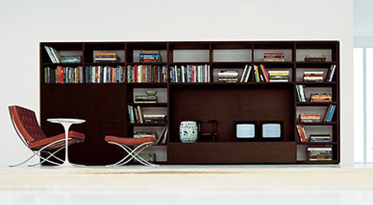 Home library design with modern interior decoration For those of - bucherregal systeme presotto highlight wohnraum