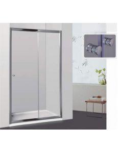 Душевая дверь RGW CL-12 115см стекло шиншилла, профиль хром