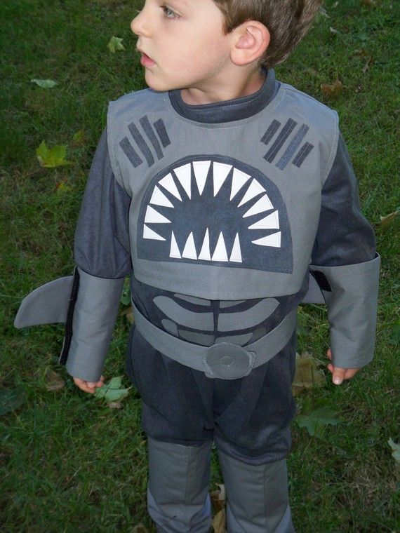 Shark Boy Childrens Costume Sharkboy Costume by correenscdesigns