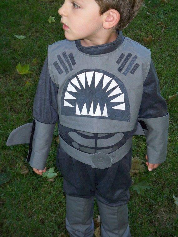 Shark Boy Childrens Costume Sharkboy Costume by correenscdesigns