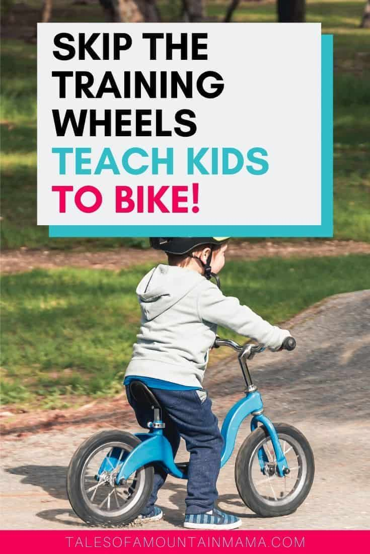 Just Say No To Training Wheels Bike With Training Wheels