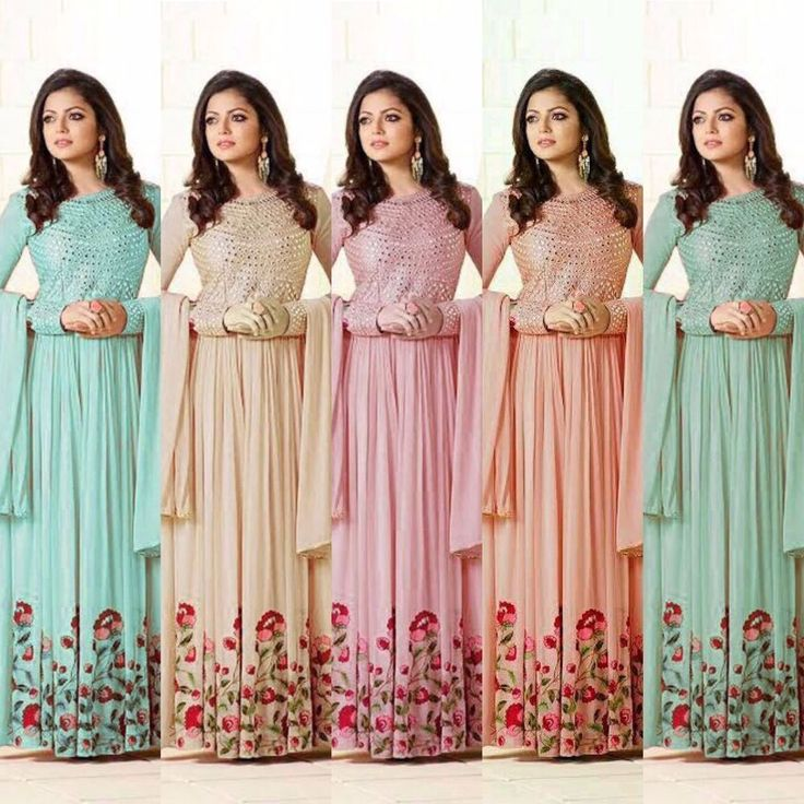 New Indian Bollywood Designer Anarkali Salwar Kameez Traditional Ethnic Suit US #Nikah_786 #Dupatta
