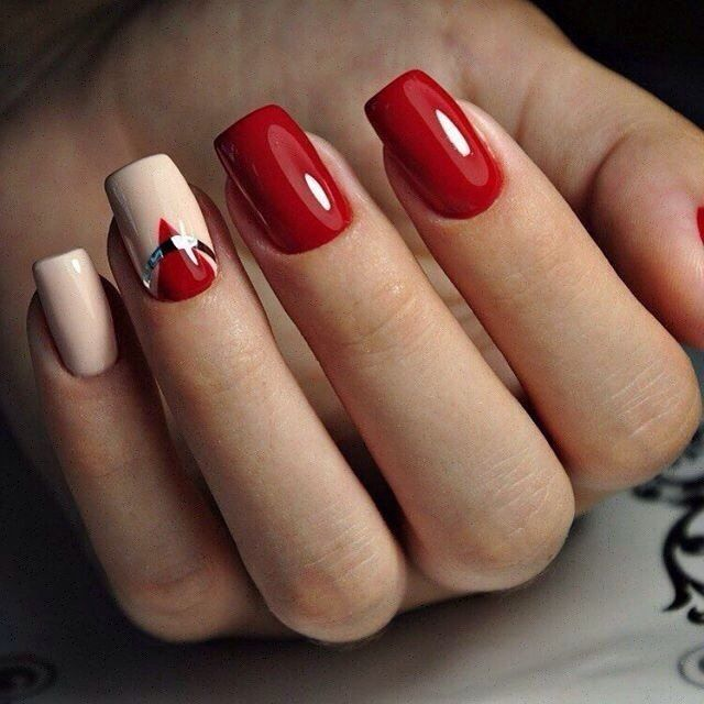 Best Nail Art Designs Gallery: 17 Best Ideas About Red Nails On Pinterest