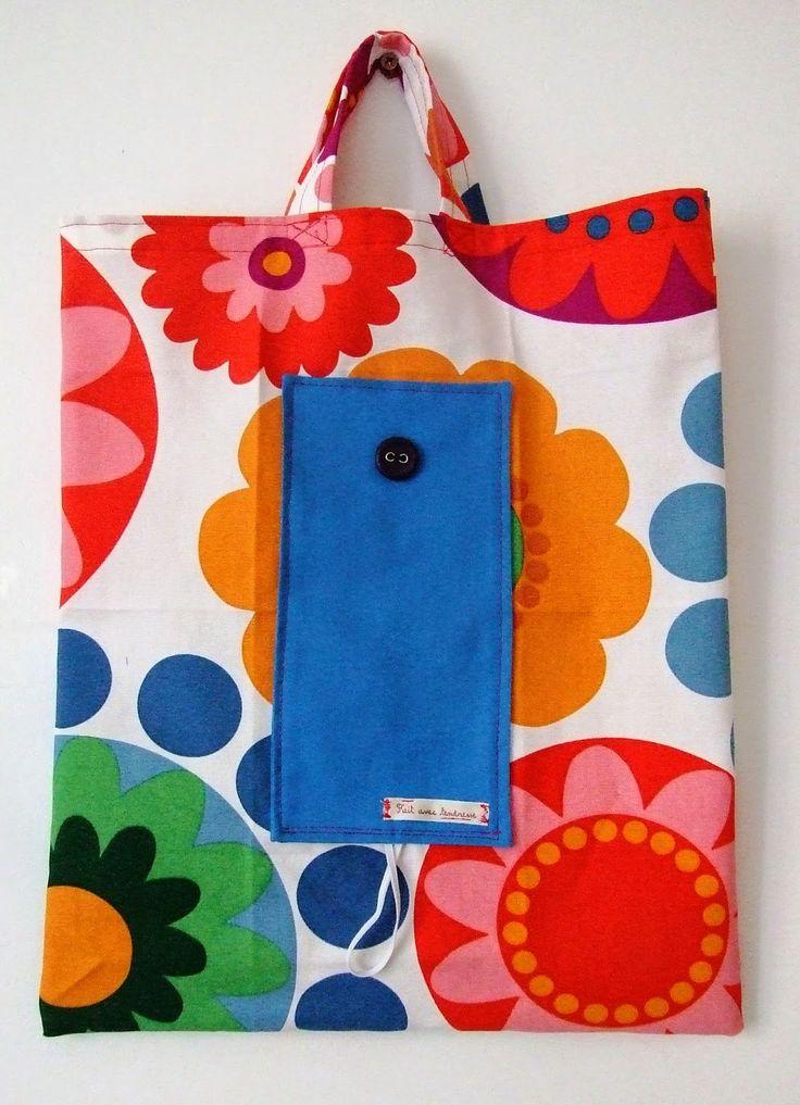 eco bag bolsa ecológica sac écologique #diy #sewing #handmade