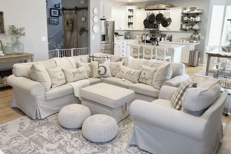 Farmhouse Decor Inspiration Ikea Couch White Kitchen