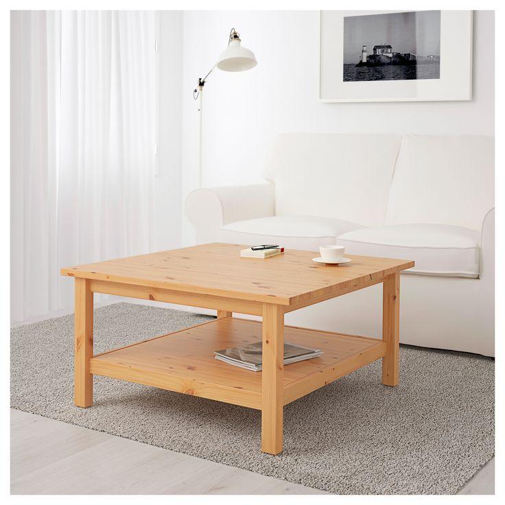 Hemnes Coffee Table Light Brown Living Room In 2019