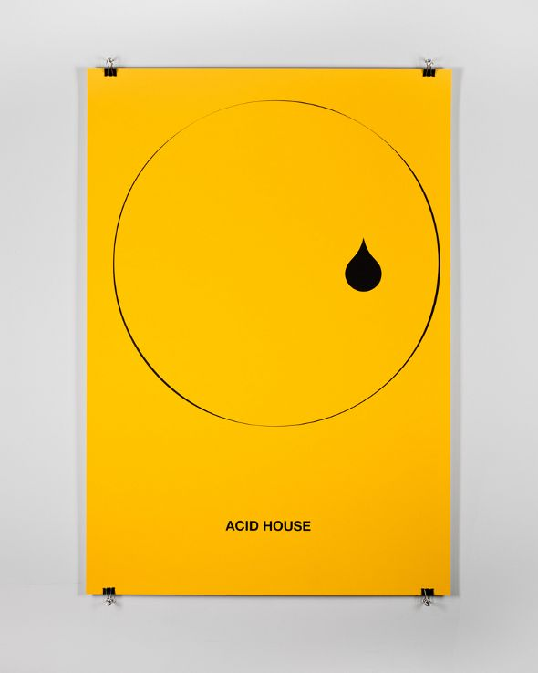 18 best graphics images on pinterest genre posters for Acid house cd
