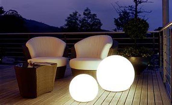 Good Outdoor Light Globes #1 - Outdoor Solar Garden Globe Lights