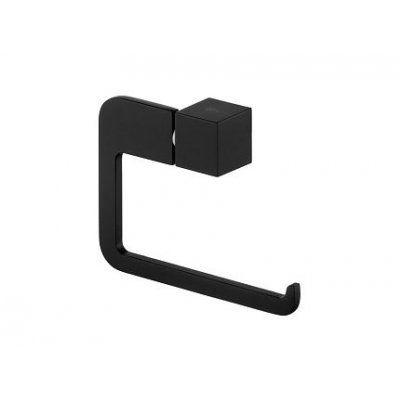 Bisk Futura black uchwyt na papier toaletowy czarny 02963