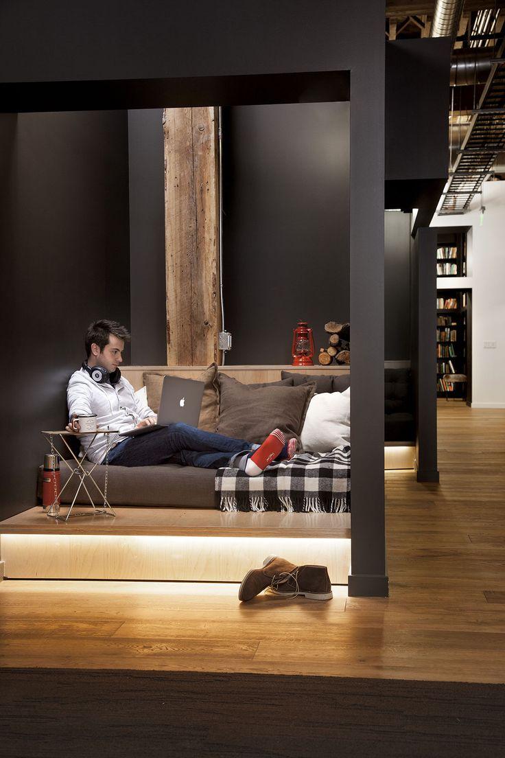 FENNIE+MEHL Architects | Office Interiors | GitHub | San Francisco | www.fm-arch.com