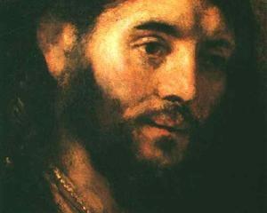 Christian Art - Head of Christ - Rembrandt