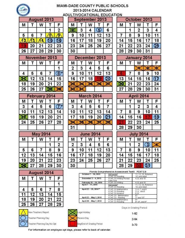 Miami Dade School Calendar 2016 2017 Free Calendar Template News