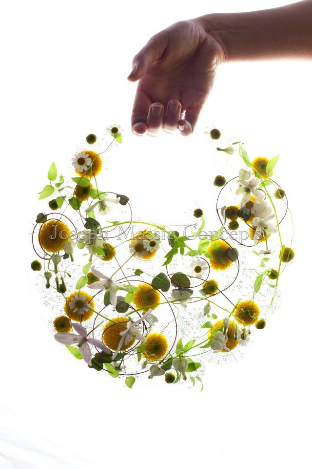 gorgeous photo, gorgeous piece. joseph massie (floral design)