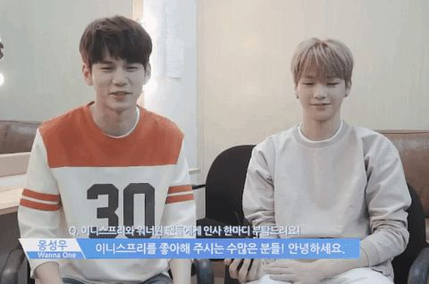 via GIPHY Kang Daniel Ong Seongwoo OngNiel Produce 101 ss2 Wanna One