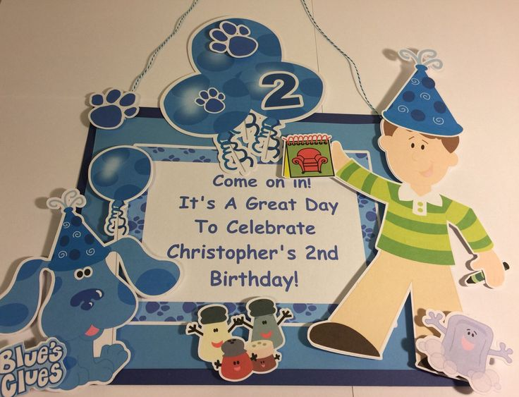 23 best Blues Clues images – Blues Clues Birthday Card
