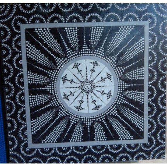 Lukisan Abstrak Teknik Dot Motif Cahaya  Panjang : 70 cm  Lebar : 90 cm  Bahan : Kanfas, Cat Vynilex  Lukisan ini menggunakan Teknik Melukis Dot (Dot Painting).  Lukisan titik (dot painting) ini menggambarkan sebuah cerita. Pelukis dot menciptakan gambar dengan menerapkan titik-titik berbagai warna, dengan menggunakan alat-alat primitif seperti tongkat, duri moncong dan paku yang di lakukan pada suku Aborigin. Tapi sekarang sebagian seniman memadukan seni Lukisan titik (dot painting) dengan…
