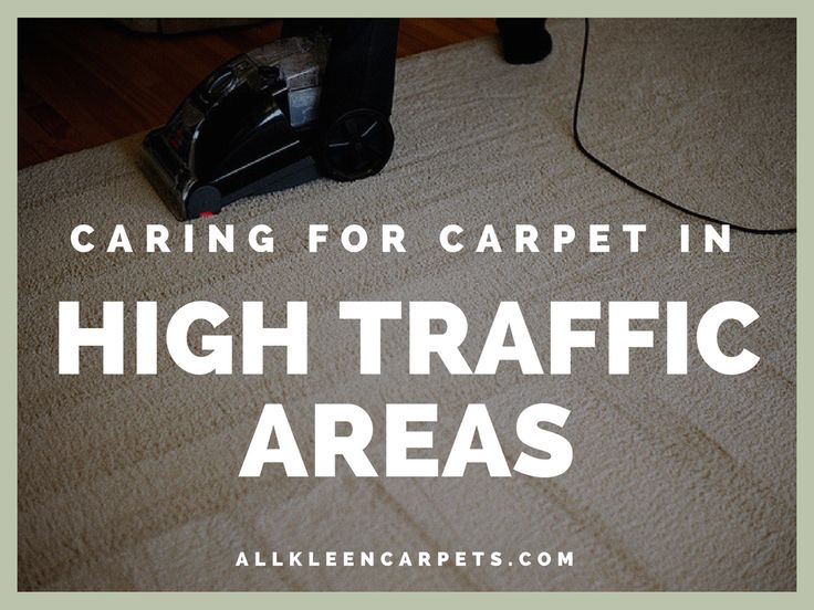 how to get high traffic stains out of carpet