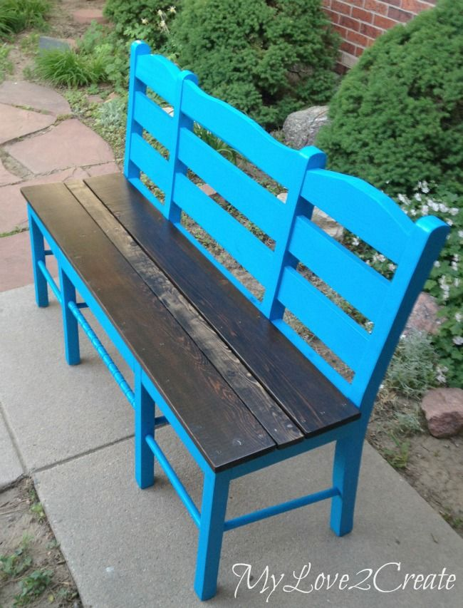 Who Knew Old Chairs Could Look so Good... :: Hometalk What a great idea!