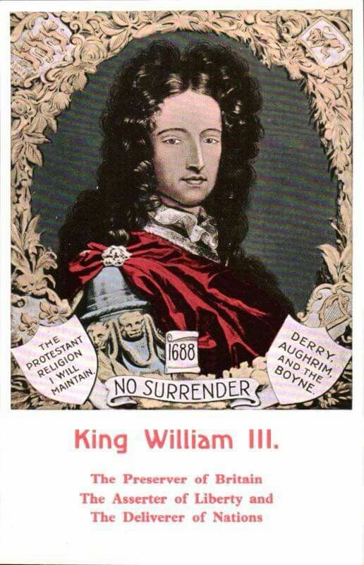 king william of orange northern ireland