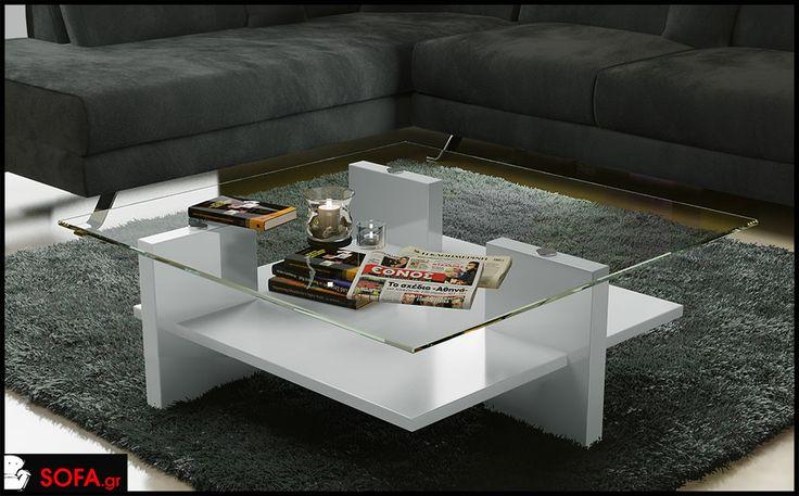 Τραπεζάκι Crystal http://sofa.gr/trapezaki-crystal #coffeetable #τραπεζάκι  #διακόσμηση