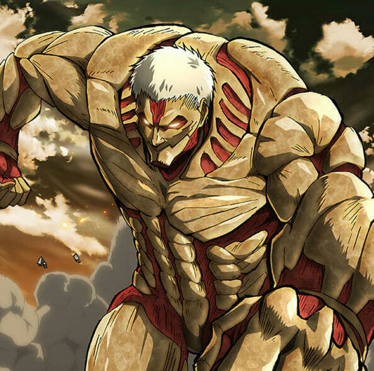 Armored Titan Warrior of Marley Reiner Braun Shingeki no kyojin season 2